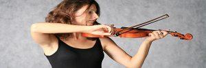 Violinist homepage image