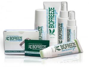 Biofreeze patient sizes image