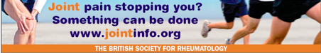 BSR Save our Joints Campaign banner